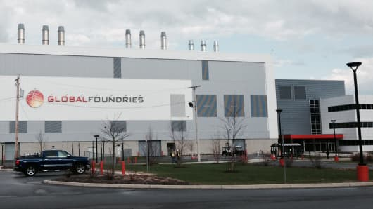 GlobalFoundries campus in Malta, N.Y.