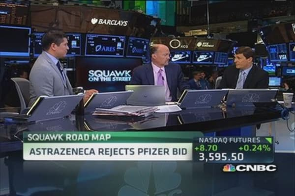 AstraZeneca rejects new Pfizer bid