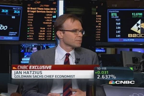 Goldman's Hatzius on jobs & GDP