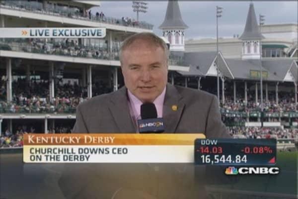 Churchill Downs' new HD video board