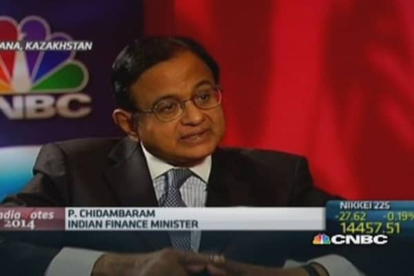 Higher taxes needed to raise revenue: India Fin Min