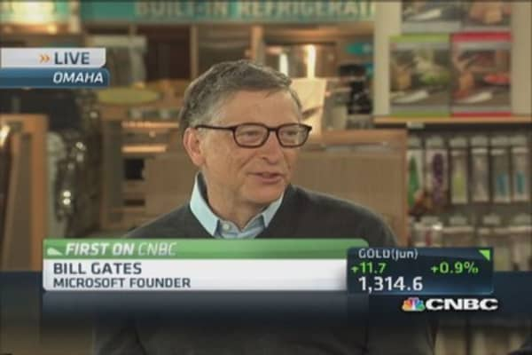 How Gates met Buffett
