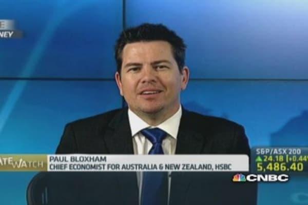 The Aussie dollar is near fair value now: HSBC