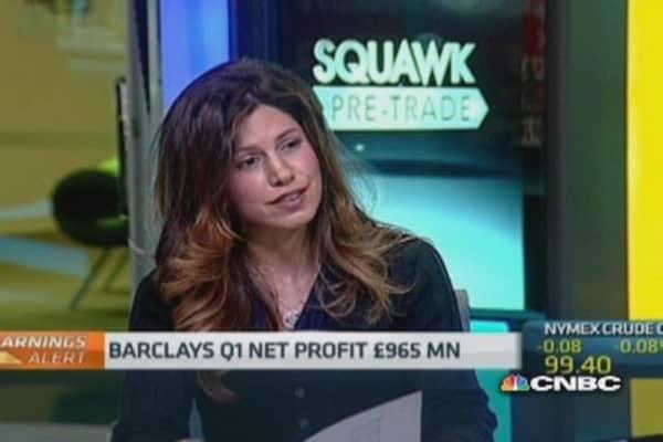 Barclays profit falls as fixed income revenue drops