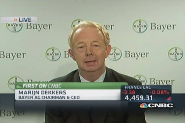Bayer CEO: Growth huge part of Merck deal