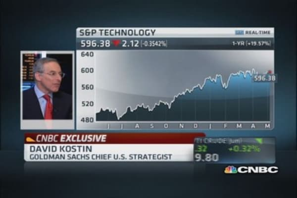 Now you can invest for growth: Kostin