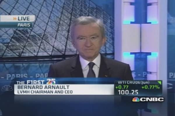 Bernard Arnault's luxurious empire