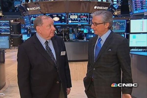 Cashin says Dow hypnotized by 10-year waffle