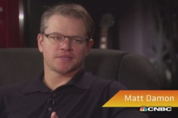 Matt Damon: Why I went on a toilet strike