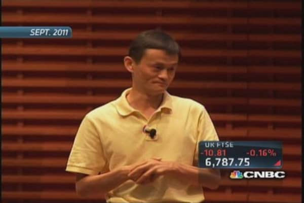 Who is Jack Ma?