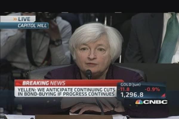 Fed Chair Yellen: Long-term unemployment unusually high