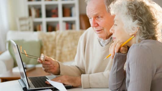 Senior couple financial planning