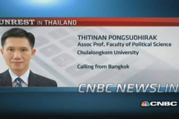 Thailand will see more turmoil: Professor