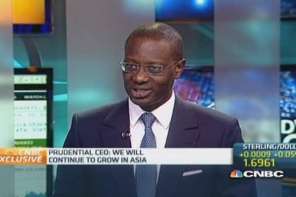 Prudential 'keen' for QE to end: CEO