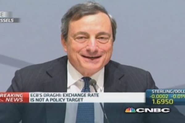 ECB doesn't pre-commit anymore: Draghi