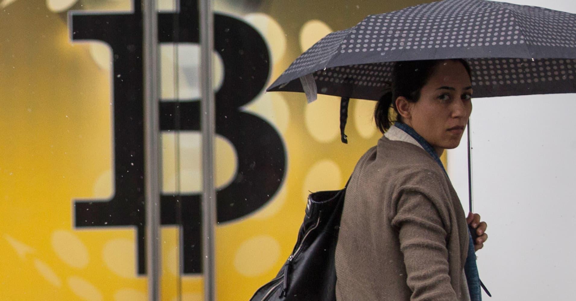 Bitcoin briefly plunges below $2,100 as upward momentum fades