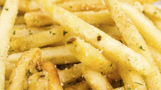 McDonald's to test seasoned fries.