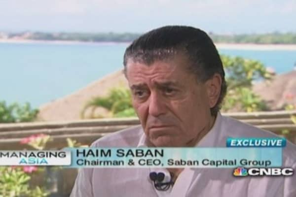 Haim Saban: Looking at Asia for M&A deals