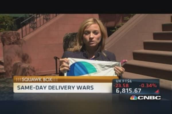 Delivery wars ahead