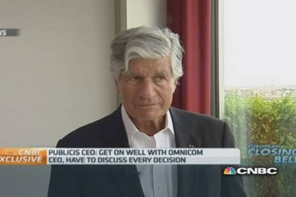Omnicom did not respect the terms: Publicis CEO