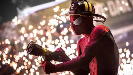 Spider-Man swings into Marvel's cinematic universe