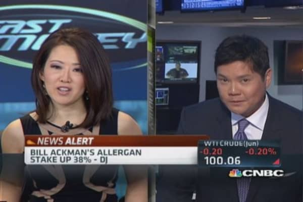 Allergan deal nets Ackman nearly $1 billion