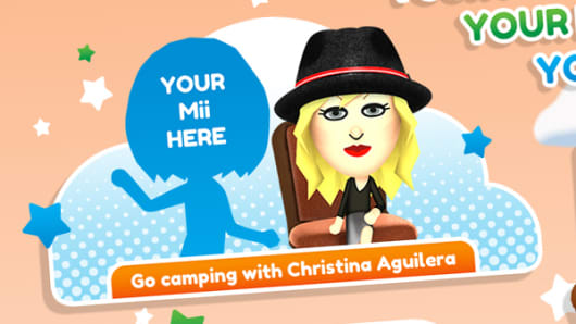 Screen image from Nintendo's Tomodachi Life website