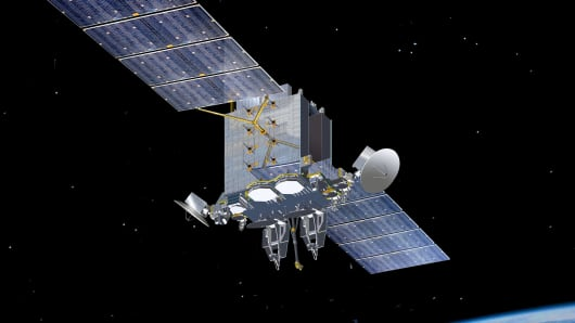 Lockheed Martin Advanced Extremely High Frequency (AEHF) satellite