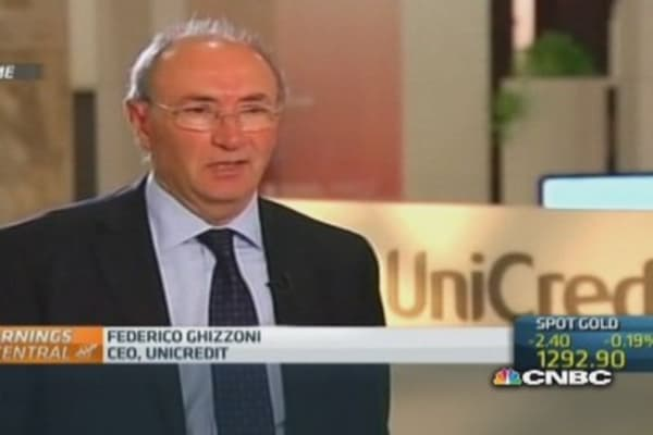 Unicredit returns to profit in the first quarter