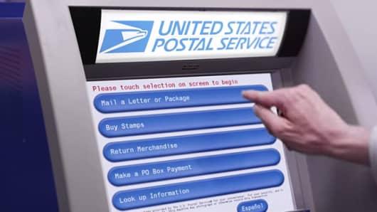 United States Postal Service Self-Service Kiosks