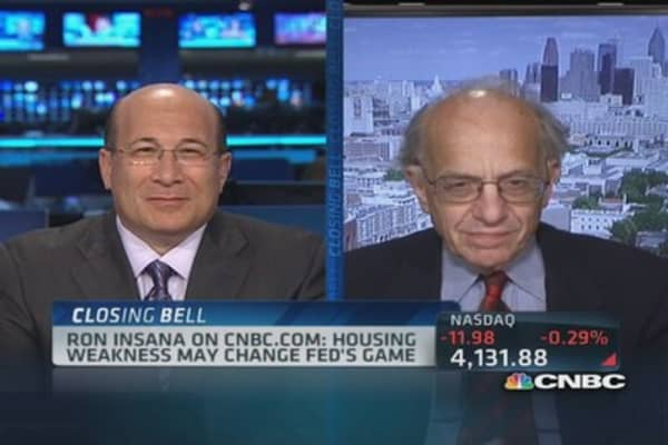 Housing & the Fed's plan