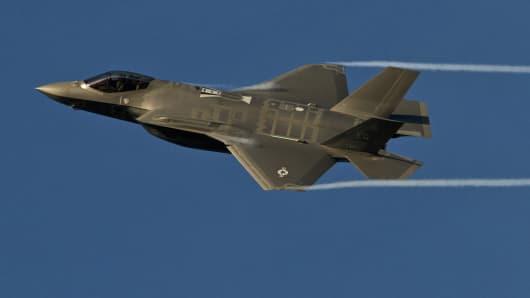 An F-35A Lightning II
