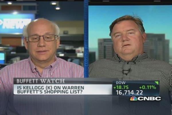 Kellogg: Berkshire target?
