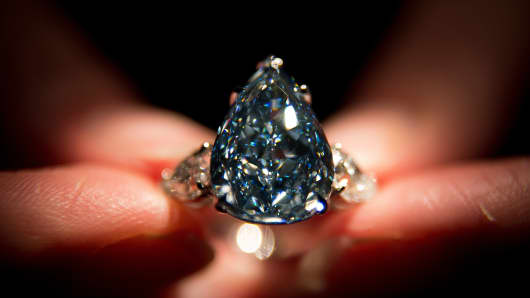 Biggest blue diamond in the world