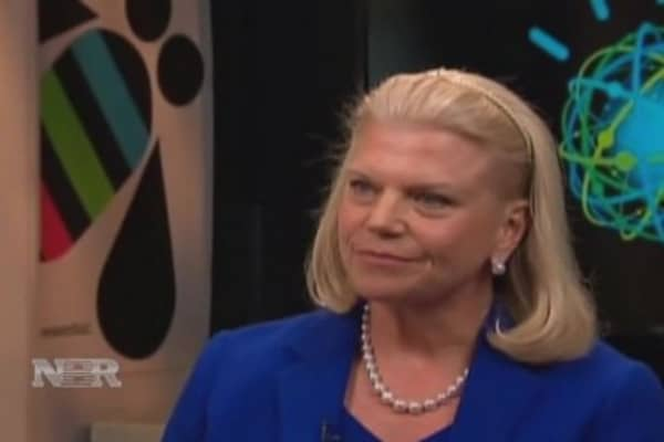 Ginni Rometty speaks
