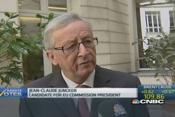 The crisis is not over: Jean-Claude Juncker