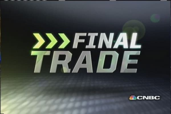 FMHR Final Trade: GD, KATE & IBM
