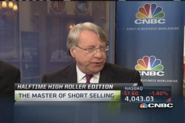 Master of short selling talks art market