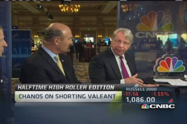 Valeant playing aggressive accounting games: Chanos