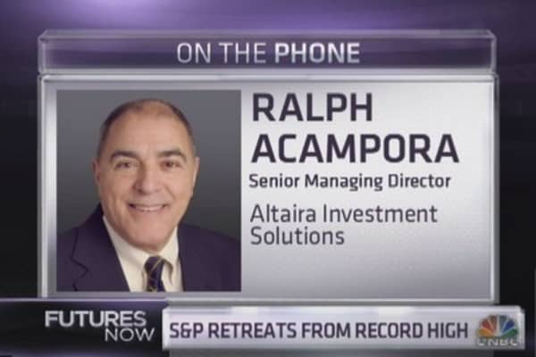 Ralph Acampora: This gives me a 'sick feeling'