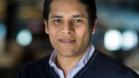 Nirav Tolia, co-founder and chief executive officer of Nextdoor.com, in 2013.