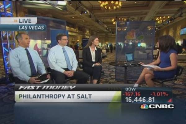 Philanthropy at SALT