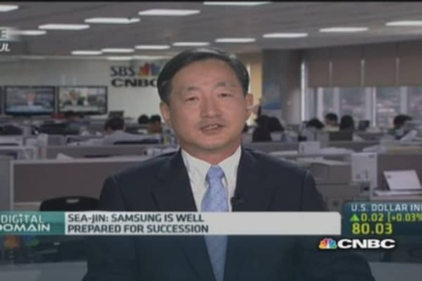 Samsung is prepared for succession: Professor