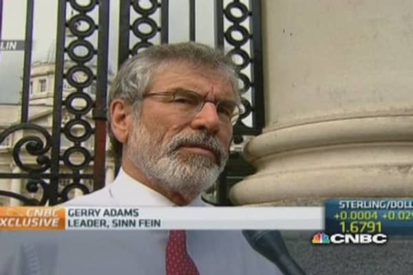 Concerned about timing of my arrest: Sinn Fein's Adams