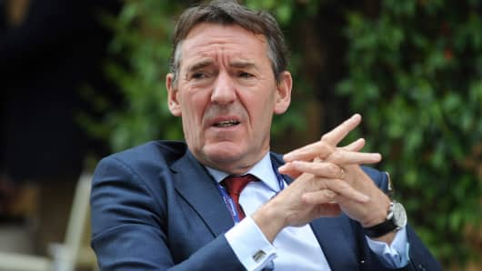 Jim O'Neill attends the Ambrosetti Workshop on April 4, 2014 in Cernobbio, Italy.