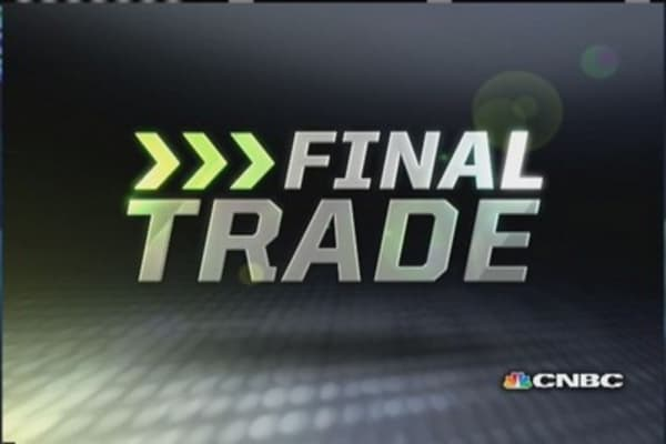 Fast Money Final Trade: CSCO, WTR, HTZ, C