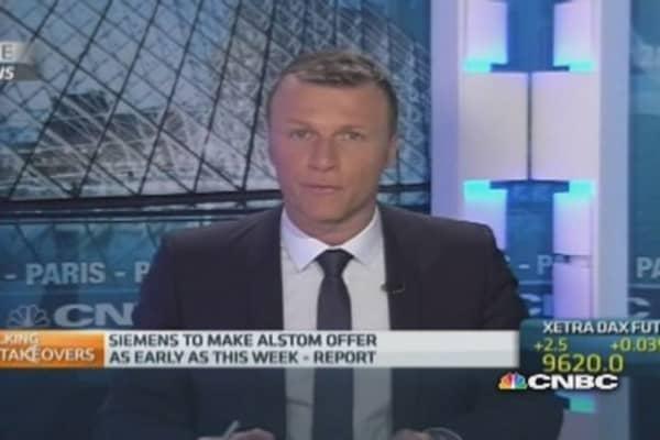 Is Siemens preparing a formal Alstom bid?