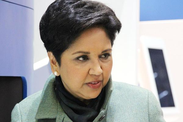 Indra Nooyi, CEO of Pepsi.