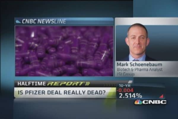 Pfizer deal 'wounded,' not dead: Analyst