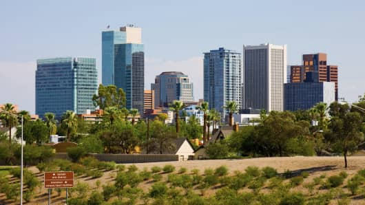 Phoenix, Arizona skyline